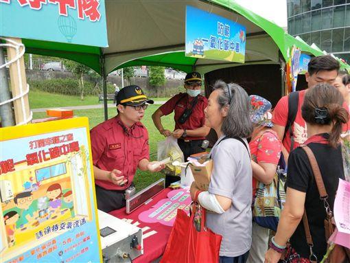 台北,消防局,防災,園遊會