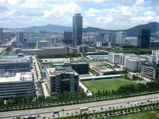 中興通訊位在深圳總部。(圖/翻攝維基百科)