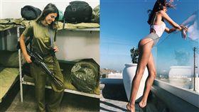 多圖/以色列女兵不穿內衣挺翹上戰 敵軍看到「槍桿」豎起 圖/翻攝自IG