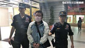 劉男在世貿國際觀光博覽會行竊遭逮(翻攝畫面)