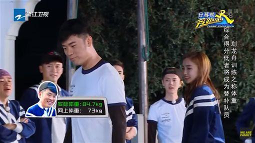 Angelababy,楊穎,跑男,奔跑吧,體重,陳赫,龍舟,身材/YouTube