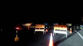 邊坡落石不斷 阿里山公路6日晚間封閉