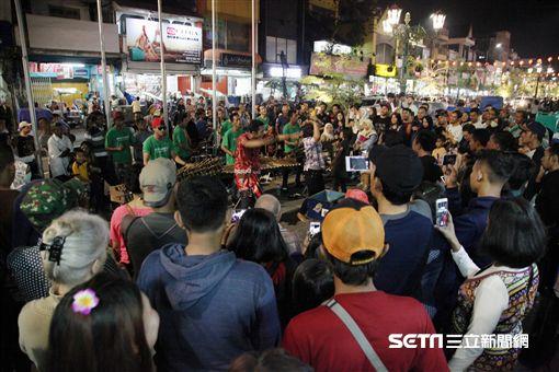 印尼日惹,夜市,Malioboro。(圖/記者簡佑庭攝)