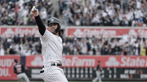 Gleyber Torres再見全壘打。(圖/New York Yankees推特)