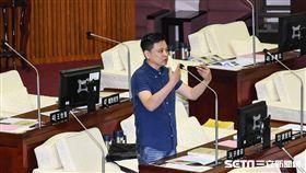 民進黨台北市議員洪健益。 圖/記者林敬旻攝