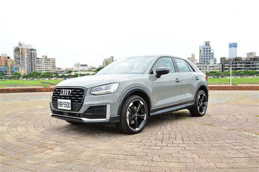Audi Q2 Edition#1。(圖/鍾釗榛攝影)