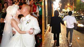 張衛健和老婆張茜。(翻攝自微博)