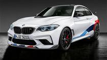 M2 Competition加裝M Performance套件。(圖/翻攝BMW網站)