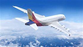 韓亞航空(圖/翻攝自Asiana Airlines Taiwan - 韓亞航空臉書)