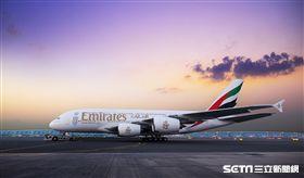 阿聯酋航空,A380客機, Emirates。(圖/阿聯酋航空提供)