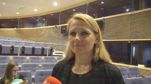 歐盟明確支持台灣參與世界衛生大會歐盟對外事務部發言人柯契姜琪克8日於比利時接受中央社記者訪問,明確表示歐盟支持台灣參與世界衛生大會(WHA),以及務實處理台灣的國際參與問題。中央社記者唐佩君布魯塞爾攝 107年5月9日
