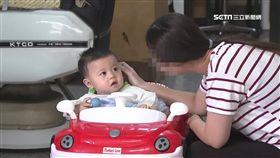 六月嬰坐螃蟹車 險遭陌生男偷抱走