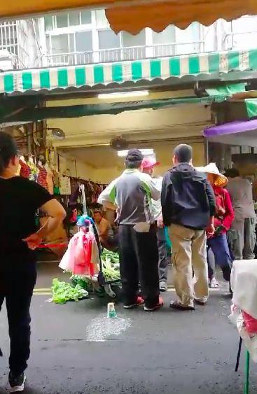 新竹,竹北,菜市場,黑道,流氓,媽媽,菜販,