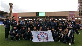 世界中學運動會中華代表隊。(圖/中華隊提供)