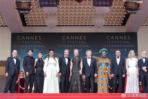 ▲▼開幕式紅毯上張震與凱特布蘭琪等評審一起出席。(圖/澤東提供)