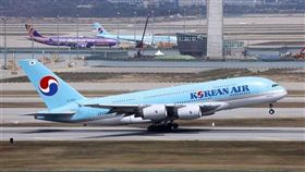 大韓航空空中巴士A380客機。(圖/翻攝自維基百科)