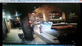 松山,酒店,開槍,信號彈,酒客(翻攝畫面)