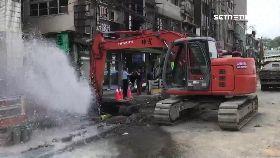 挖管線噴水1630