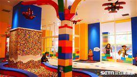 樂高飯店,名古屋,LEGO HOTEL。(圖/記者馮珮汶攝)