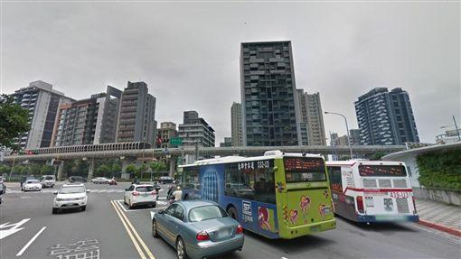 南港經貿園區,經貿二路,豪宅(圖/翻攝自Google地圖)