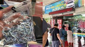 中華員工結帳到手軟兩千元紙鈔入「碎紙機」(圖/翻攝自靠北電信業者奧客臉書)