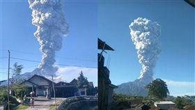 印尼火山爆發!濃煙猛竄5500公尺 機場關閉居民急撤離 圖/翻攝自bnpb_indonesia IG https://www.instagram.com/bnpb_indonesia/