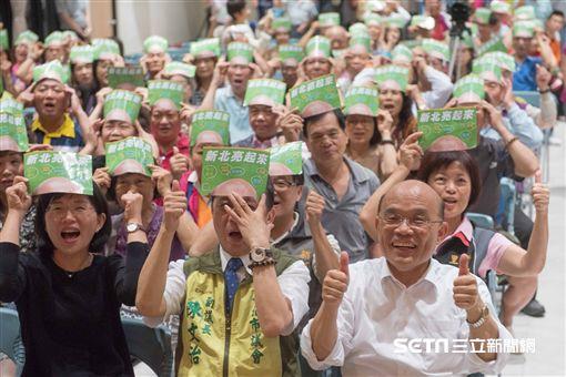 民進黨新北市長參選人蘇貞昌 蘇貞昌團隊提供