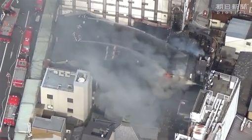 米其林三星餐廳,日本京都割烹名店「千花」失火燒毀。(圖/翻攝朝日新聞)