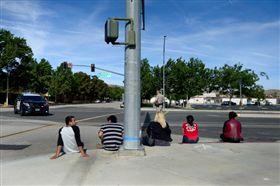 美國,洛杉磯,校園,槍擊,槍案,高中,CNN 圖/翻攝自CNN