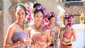 泰國,文化,一夫多妻,風俗,法律,男女比例(圖/翻攝新浪微博)