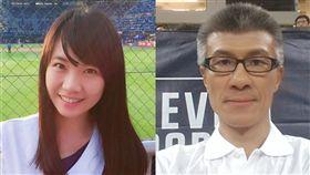 張旖旂(左)指控李亦伸(右)性騷擾神隱44天後再度臉書發文。(圖/翻攝自臉書)