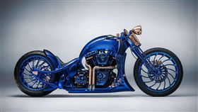 Harley-Davidson Blue Edition。(圖/翻攝Bucherer網站)