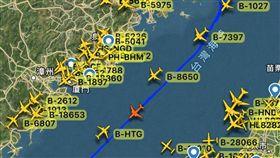 共軍運八,運輸機,M503航線,國防部 翻攝畫面