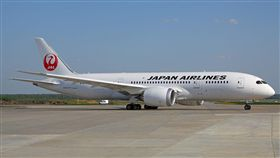 日本航空787-8。(圖/翻攝自維基百科)