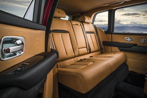 Rolls-Royce Cullinan休旅車。(圖/翻攝Rolls-Royce網站)
