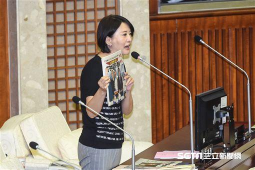 台北市議員王鴻薇。 (圖/記者林敬旻攝)