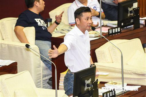 台北市議員戴錫欽。 (圖/記者林敬旻攝)