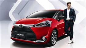Toyota Sienta魅力風尚版。(圖/Toyota提供)