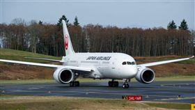 日本航空787夢幻客機。(圖/翻攝自Japan Airlines臉書)