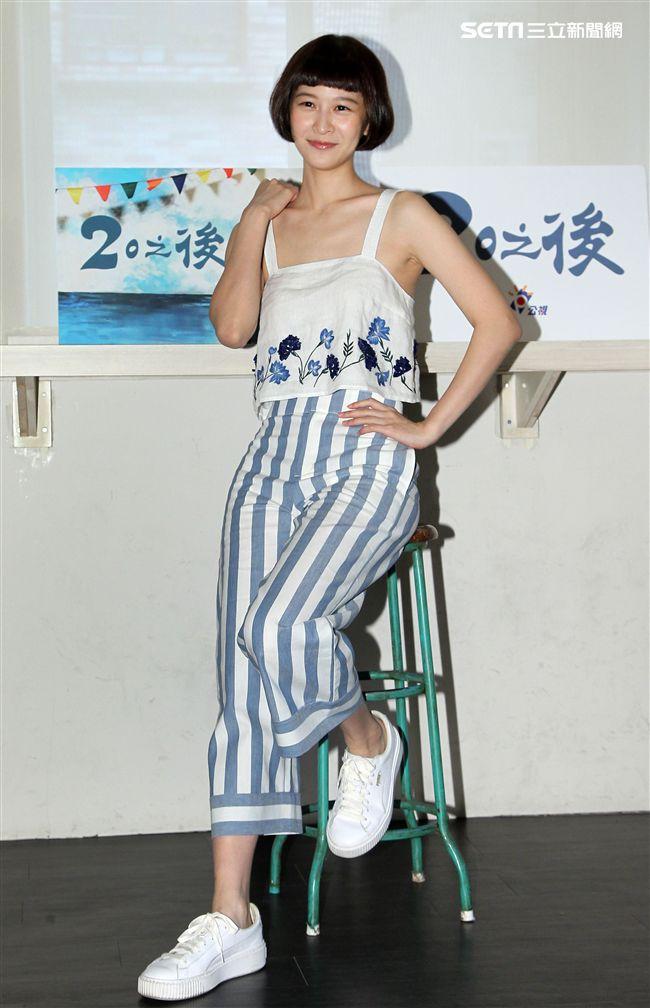 公視「20之後」演員江沂宸。(記者邱榮吉/攝影)