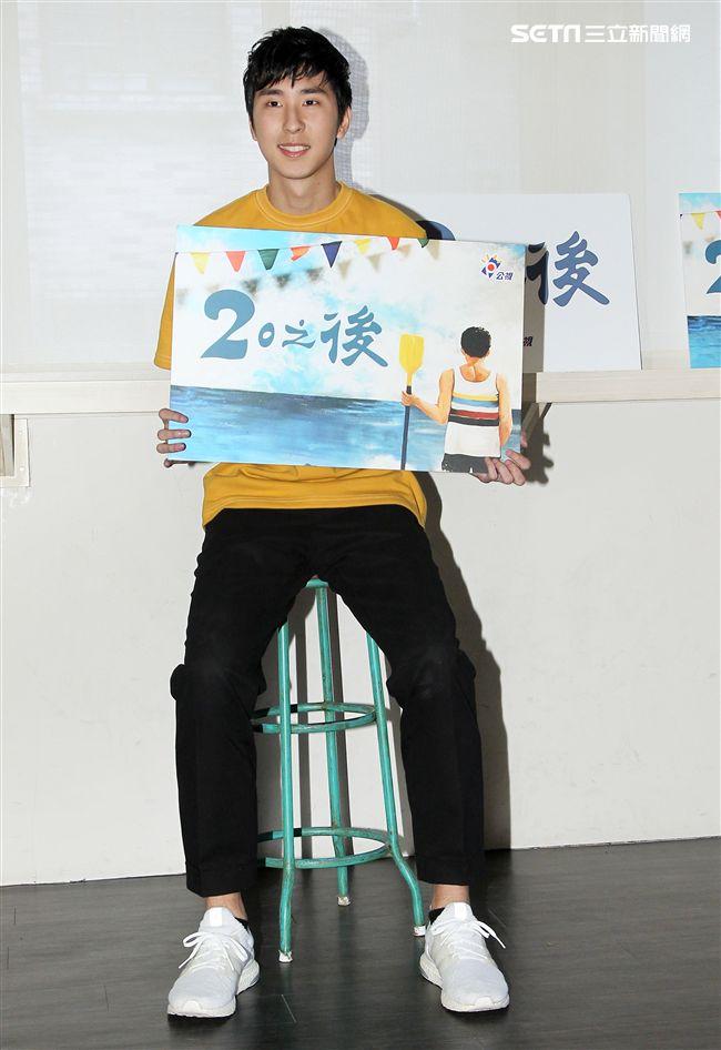 公視「20之後」演員胡釋安。(記者邱榮吉/攝影)