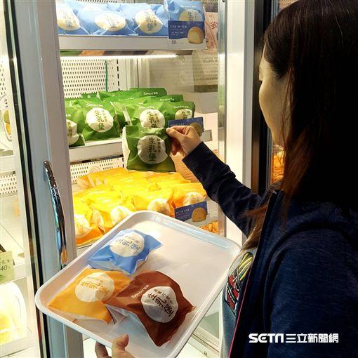 夏季限定Semeur聖娜凍凍生乳堡。(圖/Semeur聖娜提供)