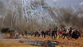 加薩血腥衝突55死,阿巴斯譴責以色列屠殺(圖/翻攝自推特)
