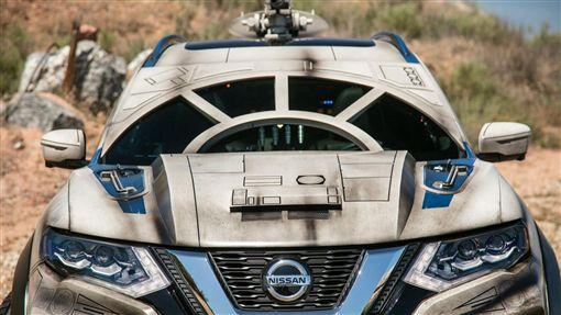 Nissan Rogue千年鷹號。(圖/翻攝Nissan網站)