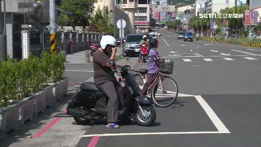 停車格陷阱?! 人行道紅色車格害收紅單