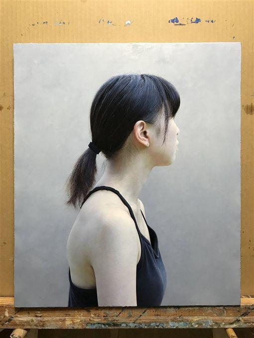 日本,畫家,油畫,藝術,三重野慶,推特,少女 圖/翻攝自推特