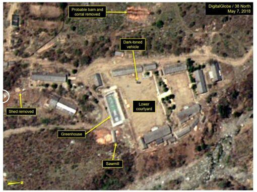 豐溪里核試驗場開拆_38 Northhttps://www.38north.org/2018/05/punggye051418/