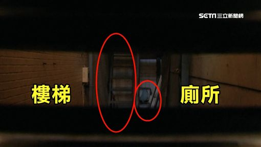 怎麼住人?夾縫屋有樓梯、廁所 寬僅140公分