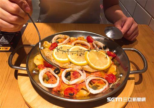 堤諾義比薩動作系料理。(圖/森邦集團提供)
