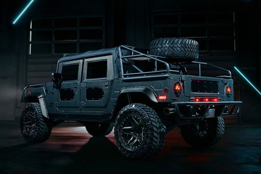 Launch Edition' #001 Hummer H1。(圖/翻攝Mil-Spec Auto網站)